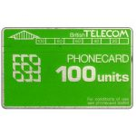 Phonecard for sale: Definitive 3rd series, notched, 100 units
