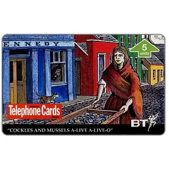 Phonecard for sale: Molly Malone International Telephone Cards, 5 units