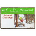 The Phonecard Shop: Great Britain, Christmas '91, Turkey's Revenge, 5 units