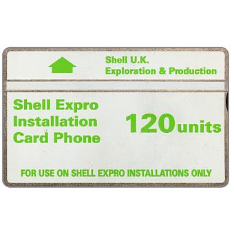 Phonecard for sale: Shell Expro, 120 units