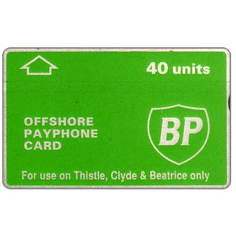 Phonecard for sale: BP - Thistle, Clyde & Beatrice, 40 units
