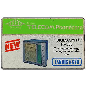 Landis & Gyr - Sigmagyr, dummy promotional card without code, 5 units
