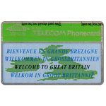 The Phonecard Shop: Welcome to Great Britain, American Express, 100 units