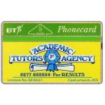 The Phonecard Shop: Great Britain, Academic Tutors Agency, 5 units