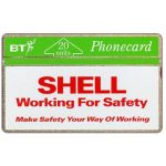 The Phonecard Shop: Great Britain, Shell UK - Working for safety, 20 units