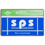 The Phonecard Shop: Great Britain, Scottish Prison Service, white band, 20 units