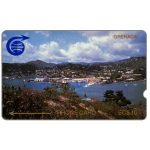 The Phonecard Shop: First issue, St.Georges, 1CGRB, deep notch, EC$10