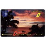The Phonecard Shop: Sunset, 3CGRB, EC$40