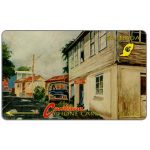 The Phonecard Shop: Grenada, Street Scene, Gouvyave, 4CGRD, EC$40