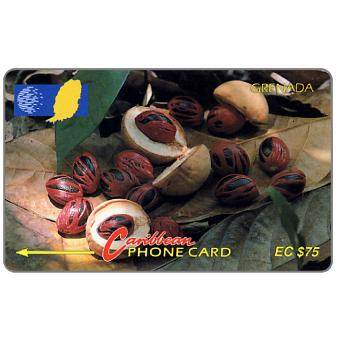 Phonecard for sale: Nutmeg, 6CGRD, EC$75