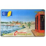 The Phonecard Shop: Grenada, Carenage St.Georges, 105CGRA, EC$20