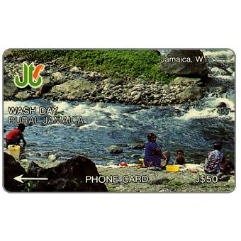 Phonecard for sale: Wash Day, 4JAMF, J$50
