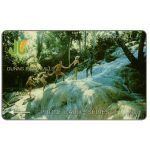 The Phonecard Shop: Dunns river falls, 6JAMD, J$20
