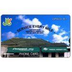 The Phonecard Shop: Jamaica, Compact Car Rentals, 10JAMA, J$10