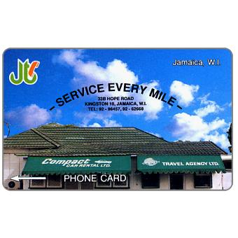 Phonecard for sale: Compact Car Rentals, 10JAMA, J$10