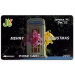 The Phonecard Shop: Merry Christmas, 10JAMB, J$50