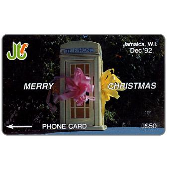 Phonecard for sale: Merry Christmas, 10JAMB, J$50