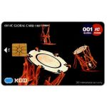 Phonecard for sale: KDD, Japanese Drums, 110 units