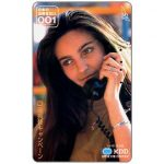 Phonecard for sale: KDD, girl at phone, 50 units