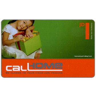 Call Home - Child with box, JD 1