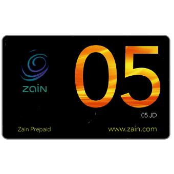 Zain - Black card, 05 JD