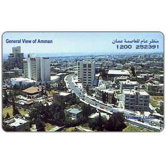 Phonecard for sale: Alo - General View of Amman, JD15