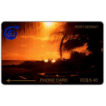 Phonecard for sale: First issue, Sunset, 2CMTA, EC$5.40