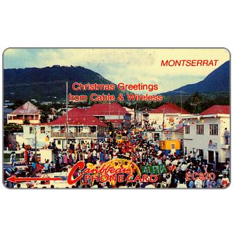 Phonecard for sale: Christmas Greetings, 5CMTA, EC$20