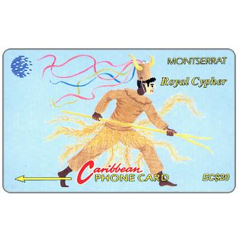 Phonecard for sale: Royal Cypher, 8CMTA, EC$20