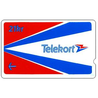 Phonecard for sale: Oslo & Bergen Trial, 00009529, 21 kr