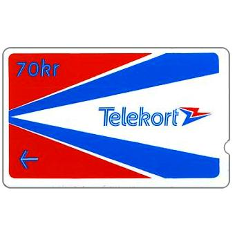 Phonecard for sale: Oslo & Bergen Trial, 00014733, 70 kr
