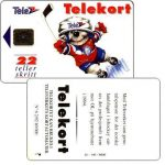 The Phonecard Shop: Ice-Hockey Mascot, 22 units