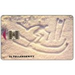 The Phonecard Shop: Lillehammer 1994, Downhill Skiing, 1/93, 22 units