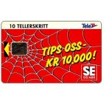 The Phonecard Shop: Norway, TIPS Oss kr 10.000, 10 units