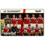 The Phonecard Shop: Norway, Football National team, 65 units