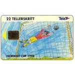 Phonecard for sale: Norway Cup 1994, 22 units