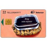 The Phonecard Shop: Norway, Calls without coins, snakeskin purse, 22 units
