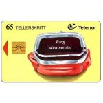 The Phonecard Shop: Norway, Calls without coins, red purse, 65 units