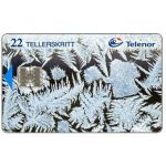 The Phonecard Shop: Norway, Ice Crystals, 22 units