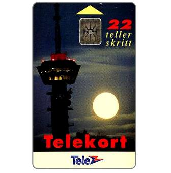 Phonecard for sale: Tyholty Telecommunication Tower, 22 units