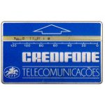 Phonecard for sale: CTT Telecomunicações - Definitive, 4 mm band, no notch, code 611B, 120 units