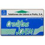 The Phonecard Shop: Portugal, TLP - Credifone Jovem, code 911B, 50 units