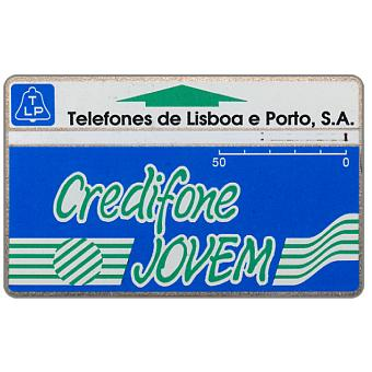 Phonecard for sale: TLP - Credifone Jovem, code 911B, 50 units