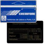 "The Phonecard Shop: Portugal, TLP - Definitive, ""periodo"", code 012A, 50 units"