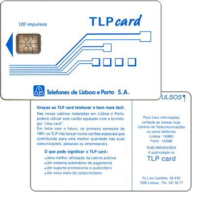 Phonecard for sale: TLP - Definitive, 120 units