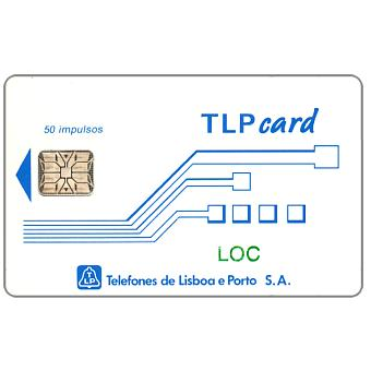 "Phonecard for sale: TLP - Definitive, ""LOC"" (I), 50 units"