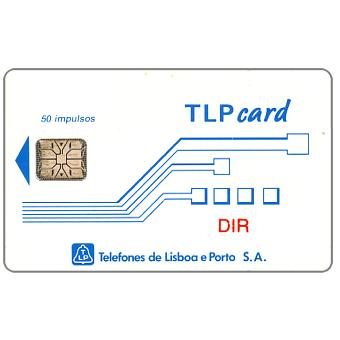 "Phonecard for sale: TLP - Definitive, ""DIR"", 50 units"