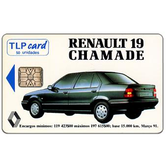 Phonecard for sale: TLP - Renault 19 Chamade, 50 units