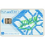 "The Phonecard Shop: TLP - Definitive, overprint ""Jovem"", 120 units"