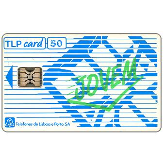 "Phonecard for sale: TLP - Definitive, overprint ""Jovem"", 120 units"